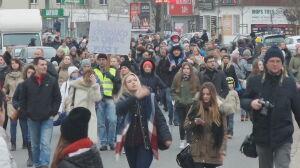 Protest po potrąceniu 7-latka na pasach. Blokada ulicy