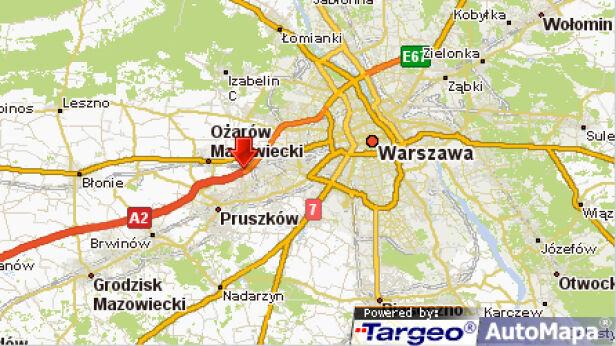 Zderzenie tirów targeo.pl