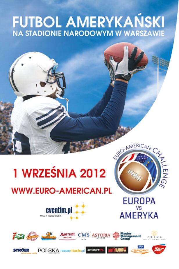 Futbol amerykański wraca na Narodowy. Europa vs USA materiały prasowe