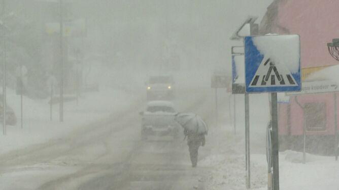 Kwietniowy rekord zimna w chorwackim mieście. Było 12 stopni mrozu