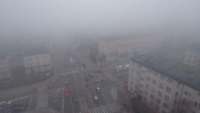 Gęsta mgła może zasnuć część kraju. <br />Prognoza pogodowych zagrożeń IMGW