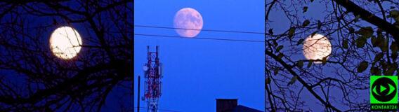 Pełnia Bobrzego Księżyca na Waszych zdjęciach