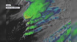 Komórki burzowe nad Oklahomą (NOAA)
